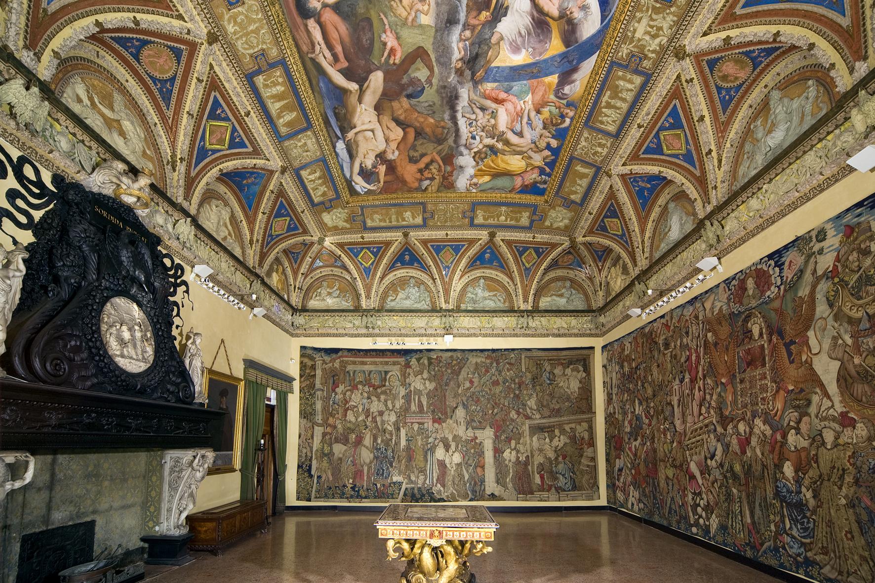 Villa del Principe – Salone dei Giganti – foto Dopart